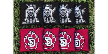 South Dakota University of Cornhole Bags - set of 8