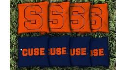 Syracuse University Cornhole Bags - set of 8