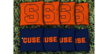 Syracuse University Cornhole Bags - set of 8