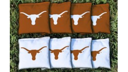 Texas University of Cornhole Bags - set of 8