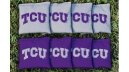 Texas Christian University Cornhole Bags - set of 8