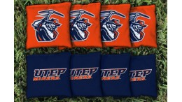 Texas El Paso University of Cornhole Bags - set of 8