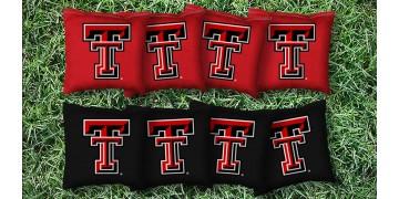 Texas Tech University Cornhole Bags - set of 8