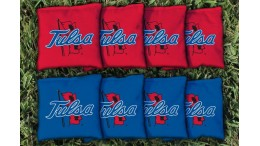 Tulsa University of Cornhole Bags - set of 8
