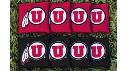 Utah University of Cornhole Bags - set of 8