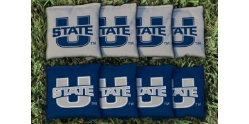 Utah State University Cornhole Bags - set of 8
