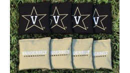 Vanderbilt University Cornhole Bags - set of 8