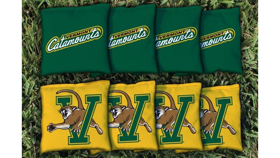 Vermont University of Cornhole Bags - set of 8