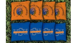Virginia State University Cornhole Bags - set of 8