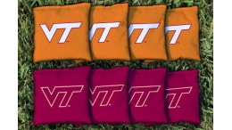 Virginia Tech Cornhole Bags - set of 8