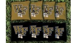 Wake Forest University Cornhole Bags - set of 8