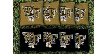 Wake Forest University Cornhole Bags - set of 8