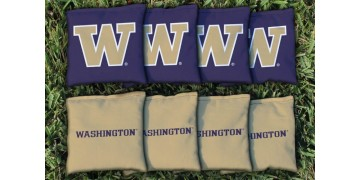 Washington University of  Cornhole Bags - set of 8
