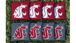Washington State Cornhole Bags - set of 8