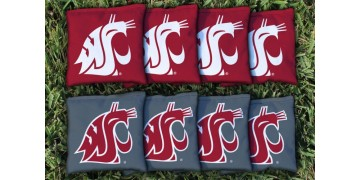 Washington State Cornhole Bags - set of 8