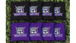 Weber State University Cornhole Bags - set of 8