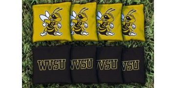 West Virginia State Cornhole Bags - set of 8