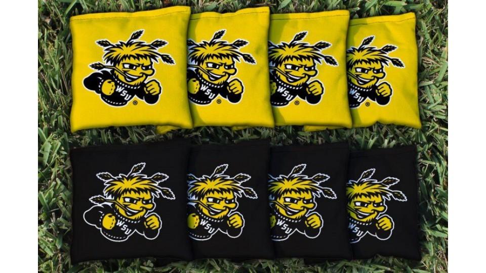 Wichita State University Cornhole Bags - set of 8