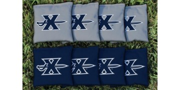Xavier University Cornhole Bags - set of 8