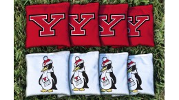 Youngstown State University Cornhole Bags - set of 8