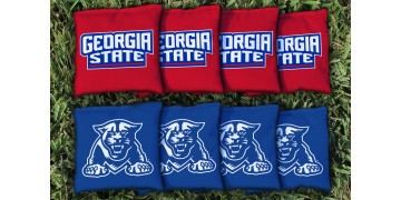 Georgia State University Cornhole Bags - set of 8