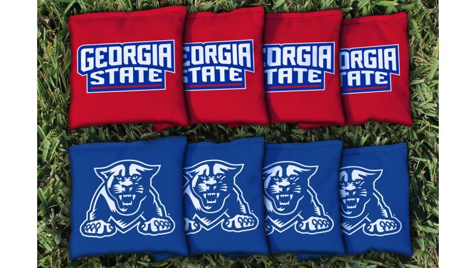 Georgia State University Cornhole Bags - set of 8
