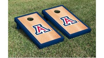 Arizona University of Hardwood Border Cornhole Boards
