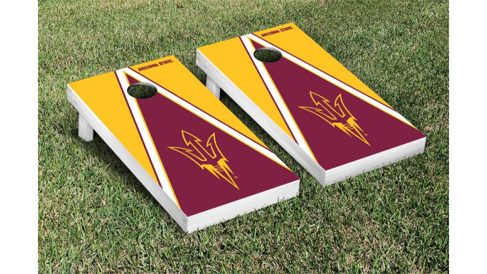 3e8cba8f Arizona State University Triangle Cornhole Boards