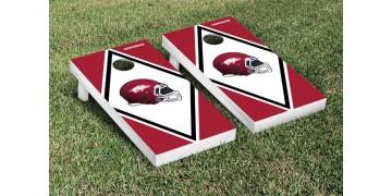 Arkansas University of Diamond Cornhole Boards