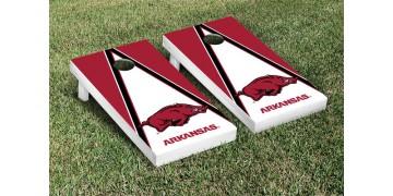 Arkansas University of Triangle Cornhole Boards