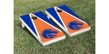 Boise State University Triangle Cornhole Boards