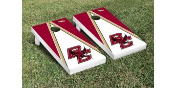 Boston College Triangle Cornhole Boards
