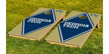 Georgia Tech University Diamond Cornhole Boards