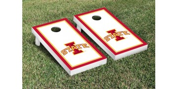 Iowa State University Border Cornhole Boards