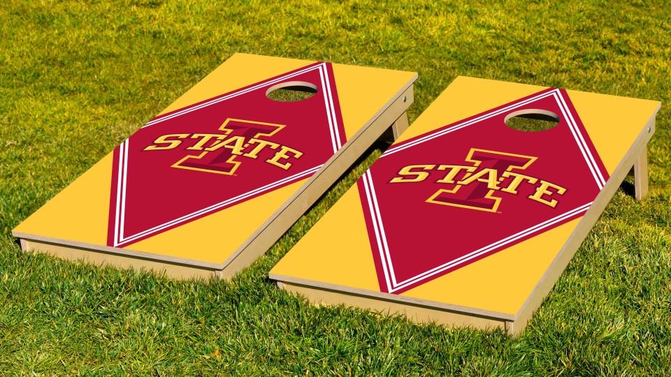 Iowa State University Diamond Cornhole Boards