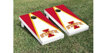 Iowa State University Triangle Cornhole Boards