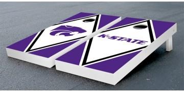 Kansas State University Diamond Cornhole Boards