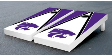 Kansas State University Triangle Cornhole Boards