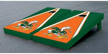 Miami University of Triangle Cornhole Boards