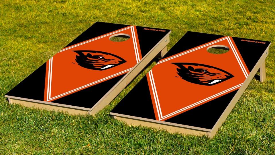Oregon State University Diamond Cornhole Boards