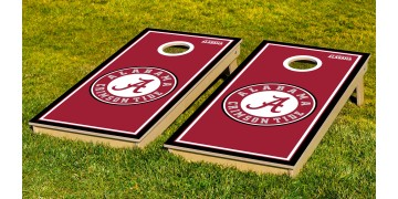 Alabama University of Border Cornhole Boards