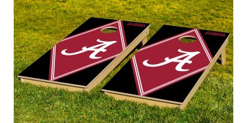 Alabama University of Diamond Cornhole Boards
