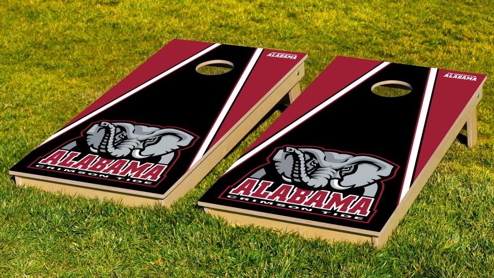Alabama University of Triangle Cornhole Boards