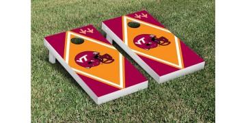 Virginia Tech Diamond Cornhole Boards