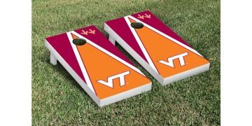 Virginia Tech Triangle Cornhole Boards