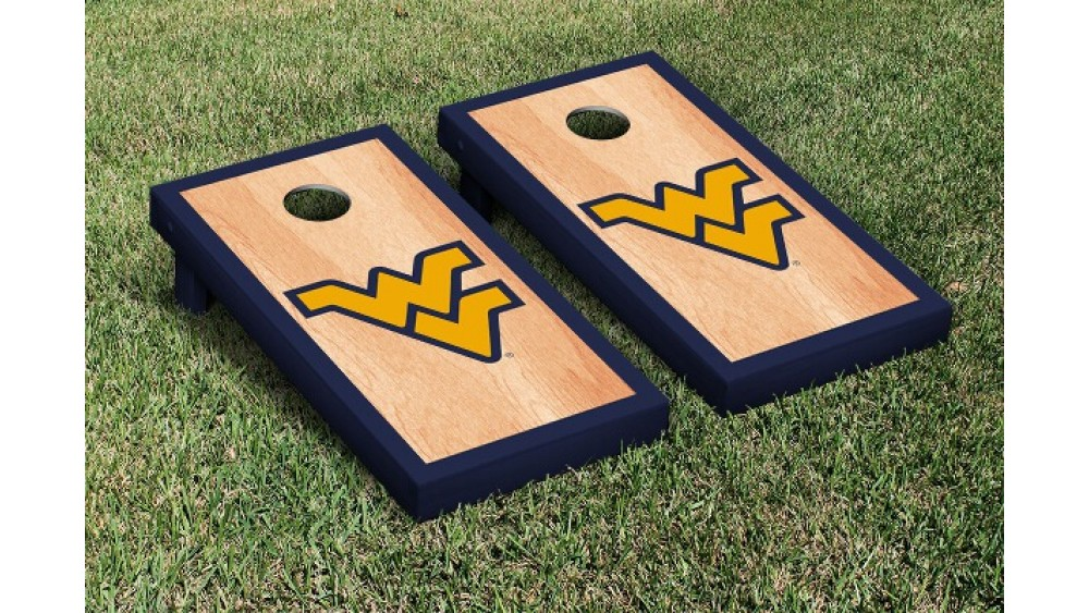 Cornhole Boards Carry Case US Navy West Virginia Mountaineers Bags Game Storage