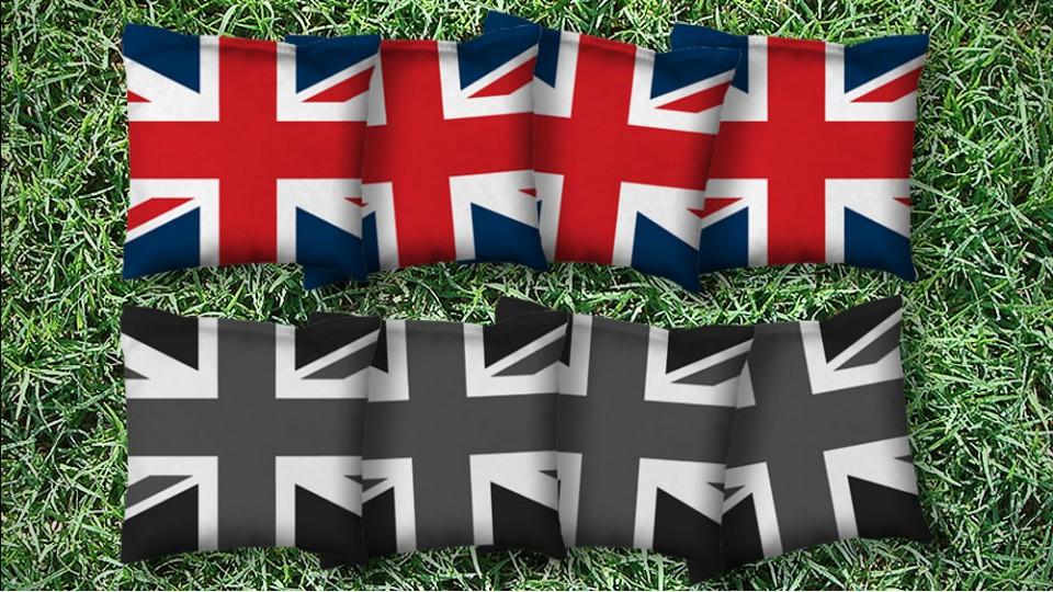 The Brits - 8 Cornhole Bags