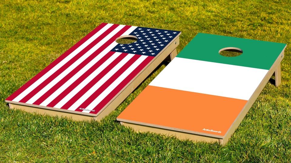 The Irish and Mericas w/bags