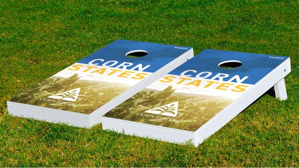 custom cornhole boards wbags - Custom Corn Hole Boards