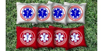 The EMT's - 8 Cornhole Bags